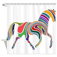 Cute Horse Shower Curtain