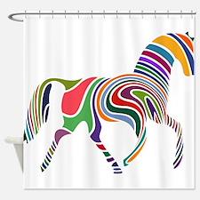 Cute Horse Shower Curtain