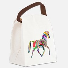 Cute Horse Canvas Lunch Bag