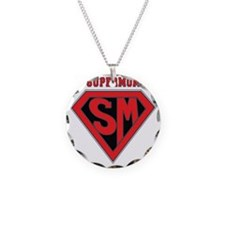 Supermom-redblack Necklace