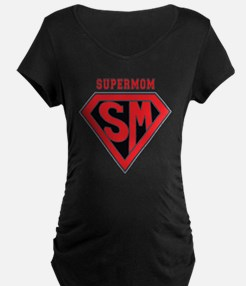 Supermom-redblack T-Shirt