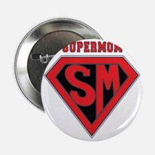 "Supermom-redblack 2.25"" Button"