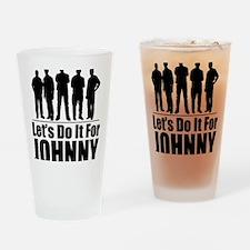 letsdoitforjohnnyblack Drinking Glass