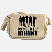 letsdoitforjohnnyblack Messenger Bag