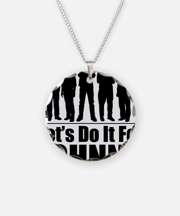 letsdoitforjohnnyblack Necklace