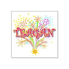 "TEAGAN Square Sticker 3"" x 3"""