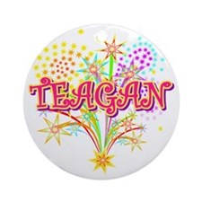TEAGAN Round Ornament