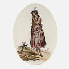 Delorida (guham) Guam Oval Ornament
