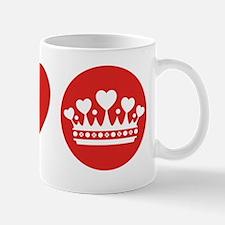 Peace Love Royal - Red 1 Mug