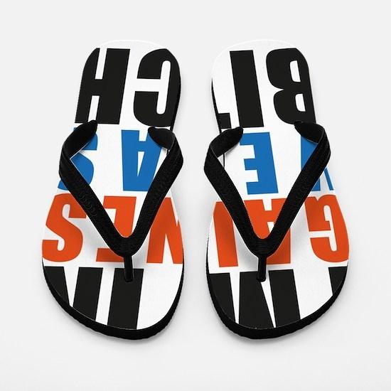 Im in Gainesvegas Bitch (OB) Flip Flops