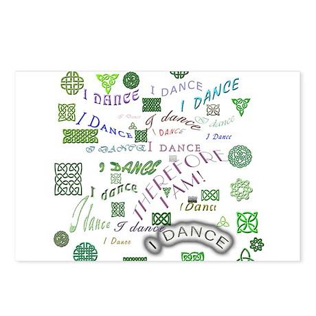 Irish Dance Postcards (Package of 8)