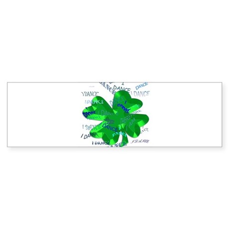 Irish Dance Bumper Sticker