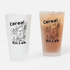 Cereal Killer Drinking Glass