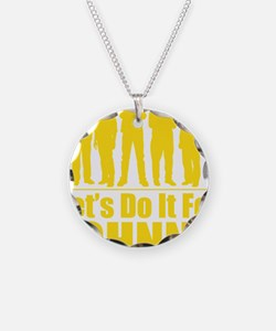 letsdoitforjohnnyyellow Necklace