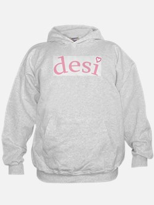 """Desi with Heart"" Hoodie"
