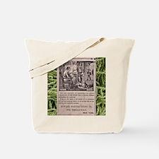 Dorcas Woolen Yarn with yarn frame Tote Bag