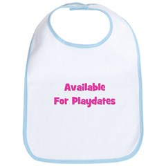 Available for Playdate (pink) Bib