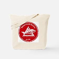 gracie logo distressed red Tote Bag