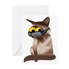 cat-2 Greeting Card
