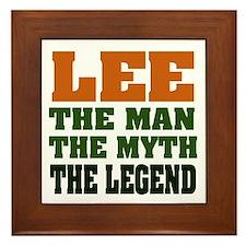 LEE - the myth Framed Tile