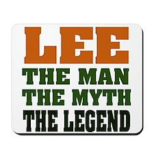 LEE - the myth Mousepad