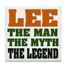 LEE - the myth Tile Coaster