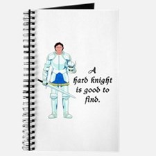 Knight in Armor on a Journal