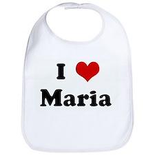 I Love Maria  Bib
