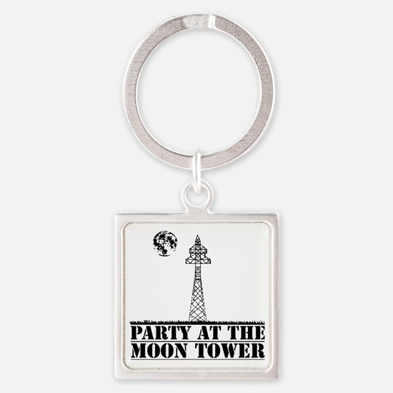 MOONTOWER Square Keychain
