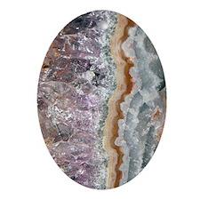 441_iphone_caseamethystcrystals Oval Ornament