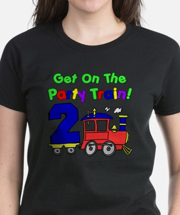 Get On The Party Train 2 Year Tee