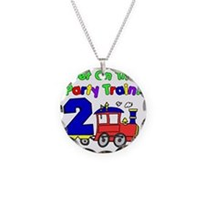 Get On The Party Train 2 Yea Necklace