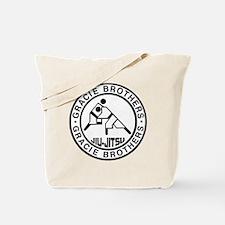 gracie bros bw Tote Bag