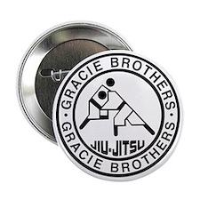 "gracie bros bw 2.25"" Button"