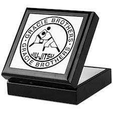 gracie bros bw Keepsake Box