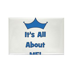 It's All About Me! Blue Rectangle Magnet