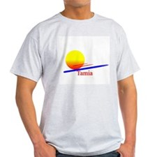 Tamia Ash Grey T-Shirt