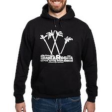 Santa Rosita white Hoodie