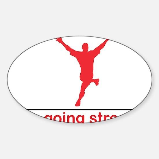weregoingstreaking Sticker (Oval)