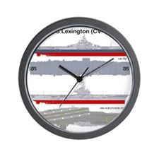 Essex-Lex-T-Shirt_Back Wall Clock
