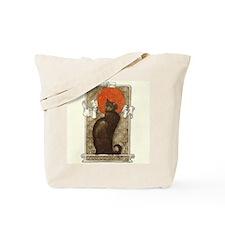 steilen_chatNoirRed Tote Bag
