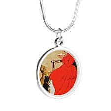 Steinlen_Lait Silver Round Necklace