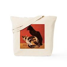 steinlen_lesChats Tote Bag