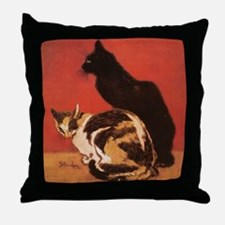 steinlen_lesChats Throw Pillow