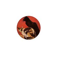 steinlen_lesChats Mini Button
