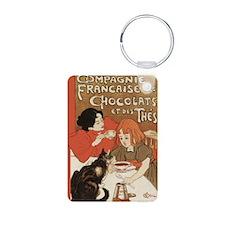 steinlen_chocolats Keychains