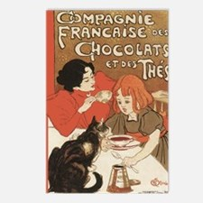 steinlen_chocolats Postcards (Package of 8)