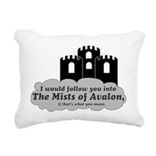 avalon Rectangular Canvas Pillow