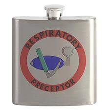 RESPIRATORY PRECEPTOR RED Flask