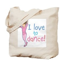 Love Dance Ballet Girl 1 Tote Bag